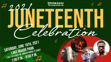 2021 Juneteenth Celebration Heading Image