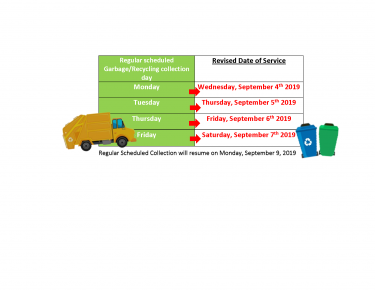 Solid Waste Storm Schedule